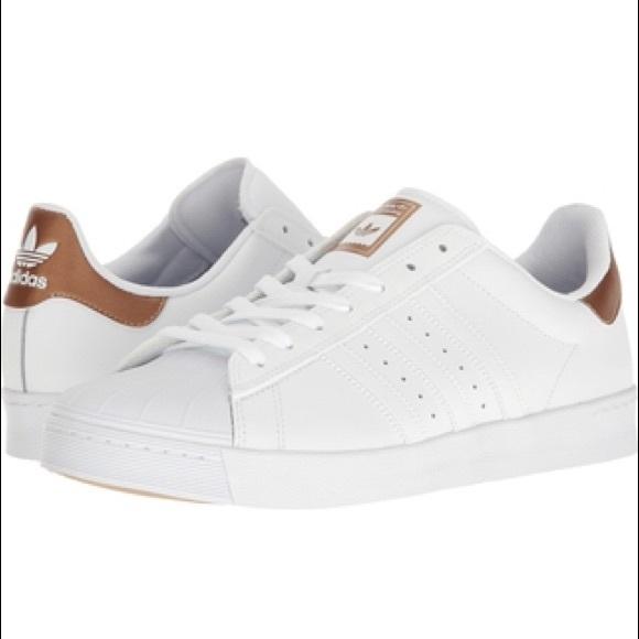 Adidas Men Superstar Vulc Adv (white footwear white silver metallic)